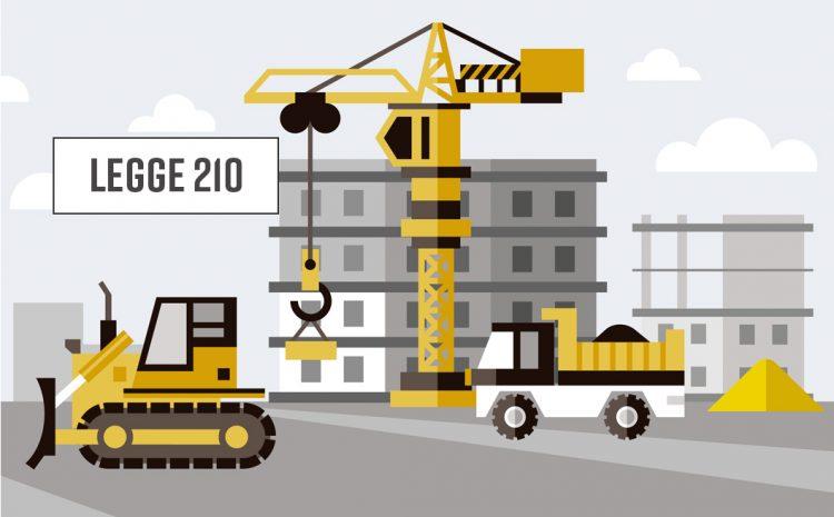 Costruzioni e legge n° 210 del 02/08/2004